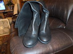 Vince Camuto Braden Black Knee High Boots, Size 10B #VinceCamuto #KneeHighBoots #SpecialOccasion