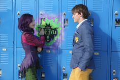 Ben and Descendants Mal | Ben gets his flirt on with Mal (Dove Cameron) Courtesy of Disney
