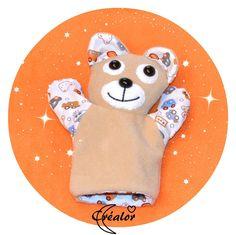 Marionnette à Main Lou l'ourse