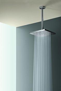 Square Rain Showerhead with Ceiling Arm TS55