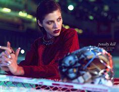 Yulia Kharlapanova by Igor Oussenko for Schon #23