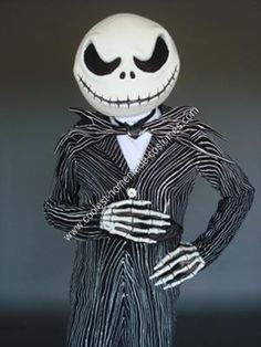 AWESOME DIY!  Homemade Jack Skellington DIY Halloween Costume Idea: I apologize if this costume was entered more than once.  I had a great deal of trouble with the submission form!   I have always been in love with The