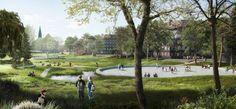SLA- Hans Tavsens Park in Copenhagen, Denmark