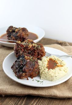Low and slow oxtails with a keto gravy on the side. A beautifully tender dish with flavor to back it up! Shared via http://www.ruled.me/