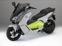 BMW C Evolution Electric Scooter.