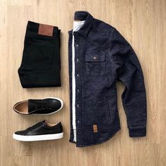""""" men's casual style outfit grid """" Chics Kind men's casual style outfit grid stylish men's inspiration men's style """" Style Outfits, Sexy Outfits, Casual Outfits, Fashion Outfits, Mens Fashion, Style Fashion, Casual Attire, Fashion Hair, Ootd Fashion"
