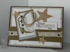 Bootiful Occasion, Delightful Dozen stamp sets for Father's Day card idea