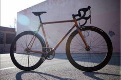 Single Speed from @horsecycles featuring a C13 #OnTheRivet