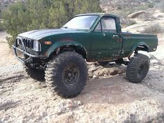 Custom Axial Scx10 out at Vasquez Rock on December 5th 2015