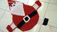 Tapete de Crochê Papai Noel - Aprendendo Croche