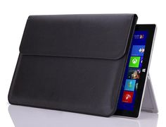 """Leather Sleeve Case Carry Bag Pouch For APPLE 13"""" MacBook Air & Pro laptop"""