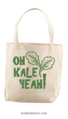 Awesome tote bag for the market!