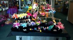 We have a large selection of wristlet bands, ribbons and bling to make your prom or homecoming flowers one of a kind just like you! By Jen-Mor Florist, Dover, DE. www.jenmor.com