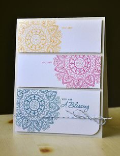You Are A Blessing  PTI Mehndi Medallion stamps