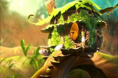 Tinkerbells home