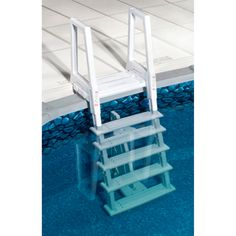 Swim Time Heavy Duty In-Pool Ladder for Above Ground Pools