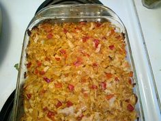 Cabbage and Red Pepper Bake