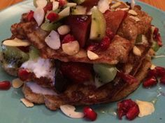 Banana Pancakes Banana Pancakes, Happy Tuesday, Recipe Of The Day, Fresh Fruit, Breakfast Ideas, Coconut Oil, Brunch, Beef, Meals