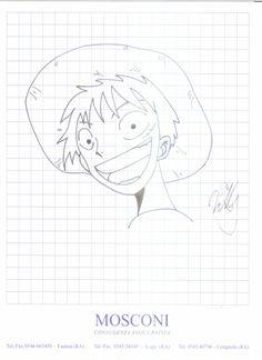 Rufy, disegno a china