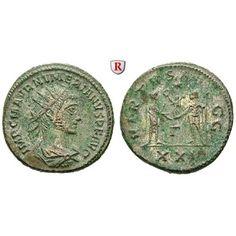 Römische Kaiserzeit, Numerianus, Antoninian 283-284, vz: Numerianus 283-284. AE-Antoninian 20 mm 283-284 Rom. Drapierte Büste r. mit… #coins