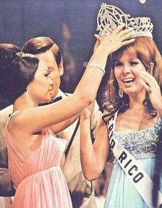 1970 Miss Universe Marisol Malaret of Puerto Rico.