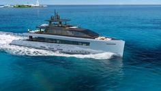 ABACO is a motor yacht concept by Baglietto Yachts and Santa Maria Magnolfi. Yacht Design, Boat Design, Power Boats, Speed Boats, Yatch Boat, Pontoon Boat, Ski Nautique, Small Yachts, Yacht Interior