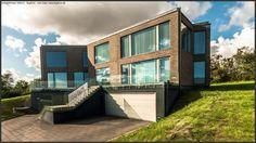 arkitekt Henrik Elstrup Artform - Bygform Funki villa i 3 plan Home Fashion, Villa, How To Plan, Mansions, House Styles, Home Decor, Decoration Home, Room Decor, Fancy Houses