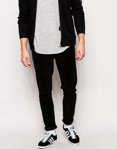 ASOS Skinny Trousers In Cord