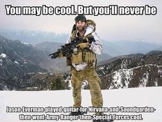 You May Be Cool - Military humor