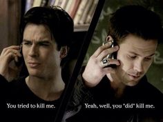 Damon and Alaric TVD