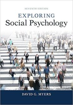 Statistics for the behavioral and social sciences a brief course exploring social psychology 7th edition by david myers author isbn 13 978 fandeluxe Image collections