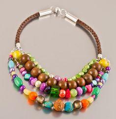 naszyjnik Copacabana (proj. Amatu) adorable hande made jewelry