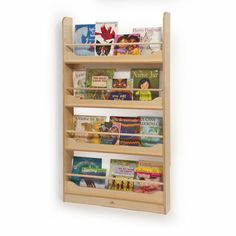 Whitney Bros - Wall Mount Book Shelf