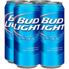 bud light 4 pack  | Bud Light Beer, 16 fl oz, 4 pack: Beverages : Walmart.com