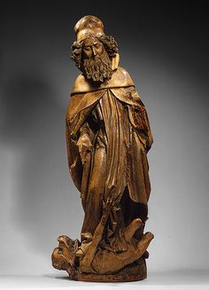 Saint Anthony Abbot, ca. 1500  Attributed to Niclaus of Haguenau (German, ca. 1445–before 1538)