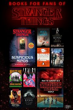 If you loved Stranger Things Season you'll love this science fiction books filled with strange monsters, spooky scenarios, and alternate realities. Books For Teens, Teen Books, Book Lists, Reading Lists, Books To Read, My Books, Stranger And Stranger, Mystery Genre, Suspicious Minds