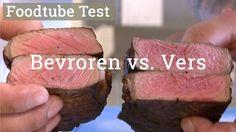 Gertjan Kiers - Test van een verse vs een bevroren Entrecote