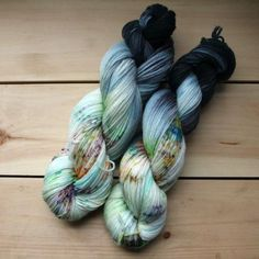 Signature Sock Yarn, a perfect balance of superwash merino and nylon, 80/20 to be exact. Each 100 gram skein is 410 yards of durable 3 ply fingering weight yarn. This yarn will make you a lovely pair                                                                                                                                                                                  More