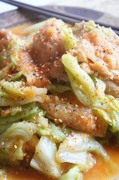 [簡単!パッと作ってモリッと食べる!] 鶏とキャベツの玉ねぎソース炒め煮 | 珍獣ママ オフィシャルブログ「珍獣ママのごはん。」Powered by Ameba