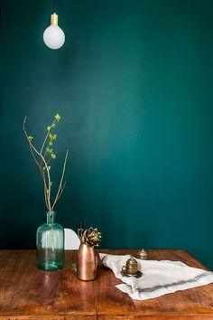 New Living Room Green Paint Bathroom 31 Ideas Teal Rooms, Teal Walls, Green Rooms, Green Walls, Elegant Home Decor, Elegant Homes, Room Colors, Wall Colors, Paint Colors