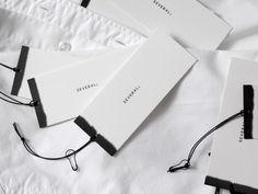 Fashion logo branding swing tags Ideas for 2019 Identity Design, Brand Identity, Logo Branding, Collateral Design, Logos, Brand Packaging, Packaging Design, Corporate Design, Corporate Identity