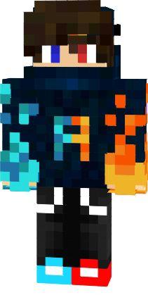 PRODIGIO DE MINECRAFT:PO Minecraft Skins Robot, Minecraft Dogs, Minecraft Sword, Cool Minecraft Houses, Minecraft Crafts, Skins Fire, Mc Skins, Capas Minecraft, Minecraft Wallpaper