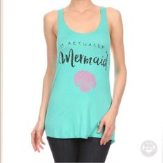 Mermaid Tank Size Large🔹 Runs true to size🔹 Price is firm Tops Tank Tops