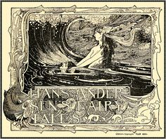 """""""The Little Mermaid"""" 1899 by Charles Robinson   by Plum leaves"""