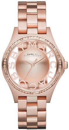 Marc by Marc Jacobs Ladies Henry Convex Dial Watch on shopstyle.com