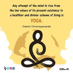 Any attempt of the mind to rise from the low values of its present existence to a healthier and diviner scheme of living is YOGA. Yoga Day, Lowes, Presents, Mindfulness, Healthy, Instagram, Gifts, Favors, Health