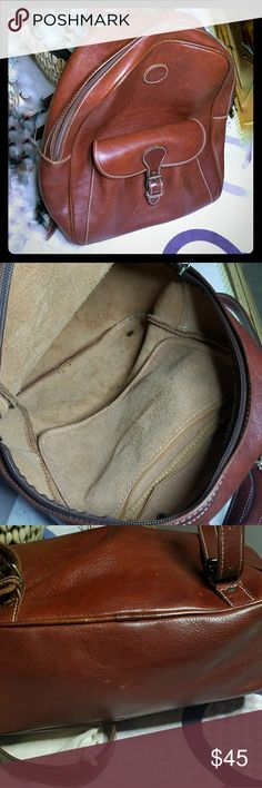 ITALIAN Leather Mini Backpack Great condition, used. Quality piece. Bags Backpacks