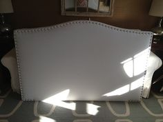 Queen or Full size Camelback Upholstered by ThreeStrandsDesigns, $365.00 This is cool!