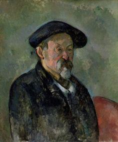 Paul Cézanne, Autoritratto con berretto, 1898-1899 circa olio su tela, cm 64,1 x 53,3 Boston, Museum of Fine Arts Charles H. Bayley Picture e Painting Fund e dono parziale di Elizabeth Paine Metcalf #RaffaelloversoPicasso #Vicenza