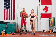 With dedication, endless hours of hard work, and the support from each other even as they represented different countries, these two both walked away from the 2016 Olympics Games with medals. Congratulations to Brianne Theisen-Eaton for her Bronze Medal in the Heptathlon, and to Ashton Eaton for making history with his Gold Medal in the Decathlon! Endeavor. Always. #WeAreEaton #ReadyForAnything #QALOring